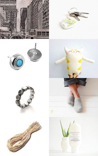 On a Chicago Street corner by Elsa Pakopoulou on Etsy--Pinned with…