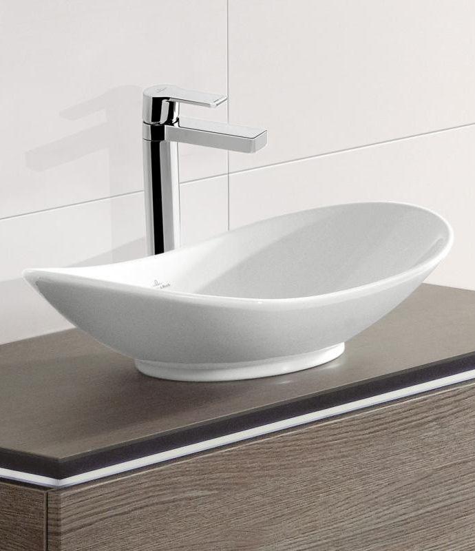 Villeroy  Boch My Nature Er hat die Form einer Waschschale und