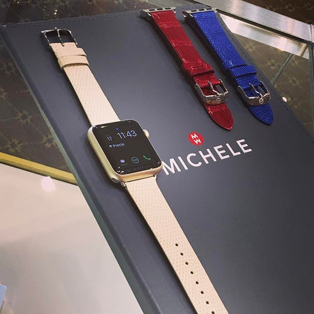 Hey there, Apple Watch, you're all dressed up! Michele