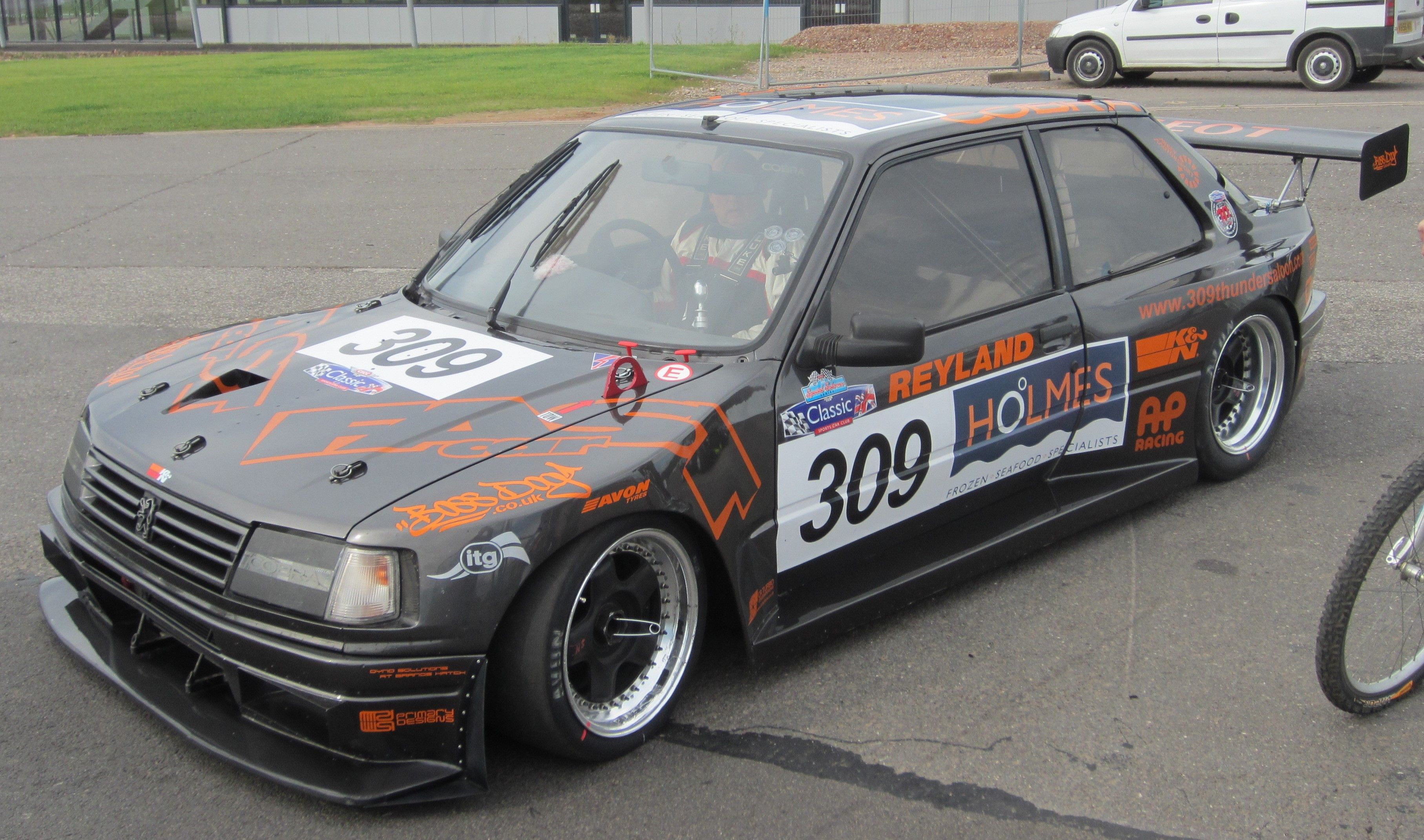 thundersaloon peugeot 309 gti turbo a cscc special saloons modsports pinterest peugeot. Black Bedroom Furniture Sets. Home Design Ideas