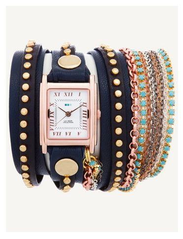 I would love a La Mer watch. Loving this one.