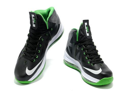 31d572fc2e4 Nike LeBron 10 Black Green White Style Code: 541100-300 Here we can find