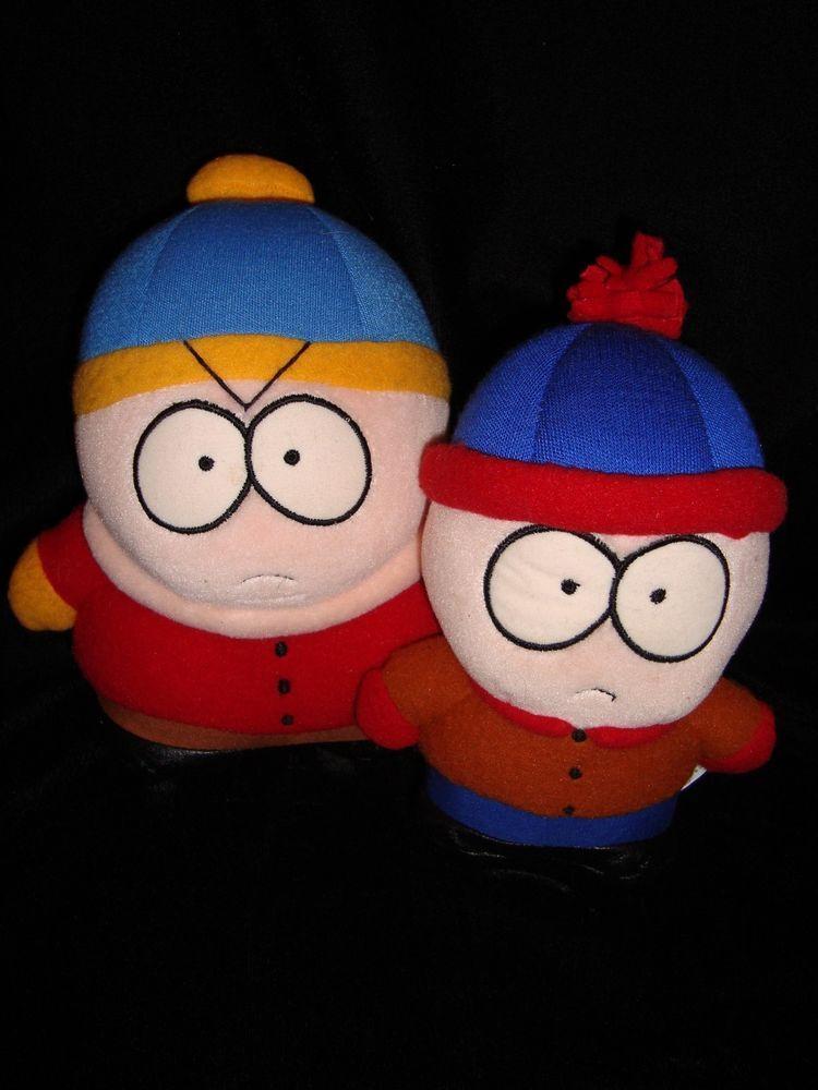 South Park Cartman 7 Quot Stan 6 Quot Plush Lof 2 Dolls Stuffed