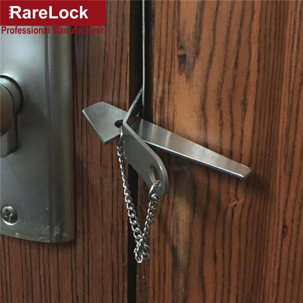 Instant Door Lock Stainless Steel Security Latch Door Lock Security Door Locks Home Security