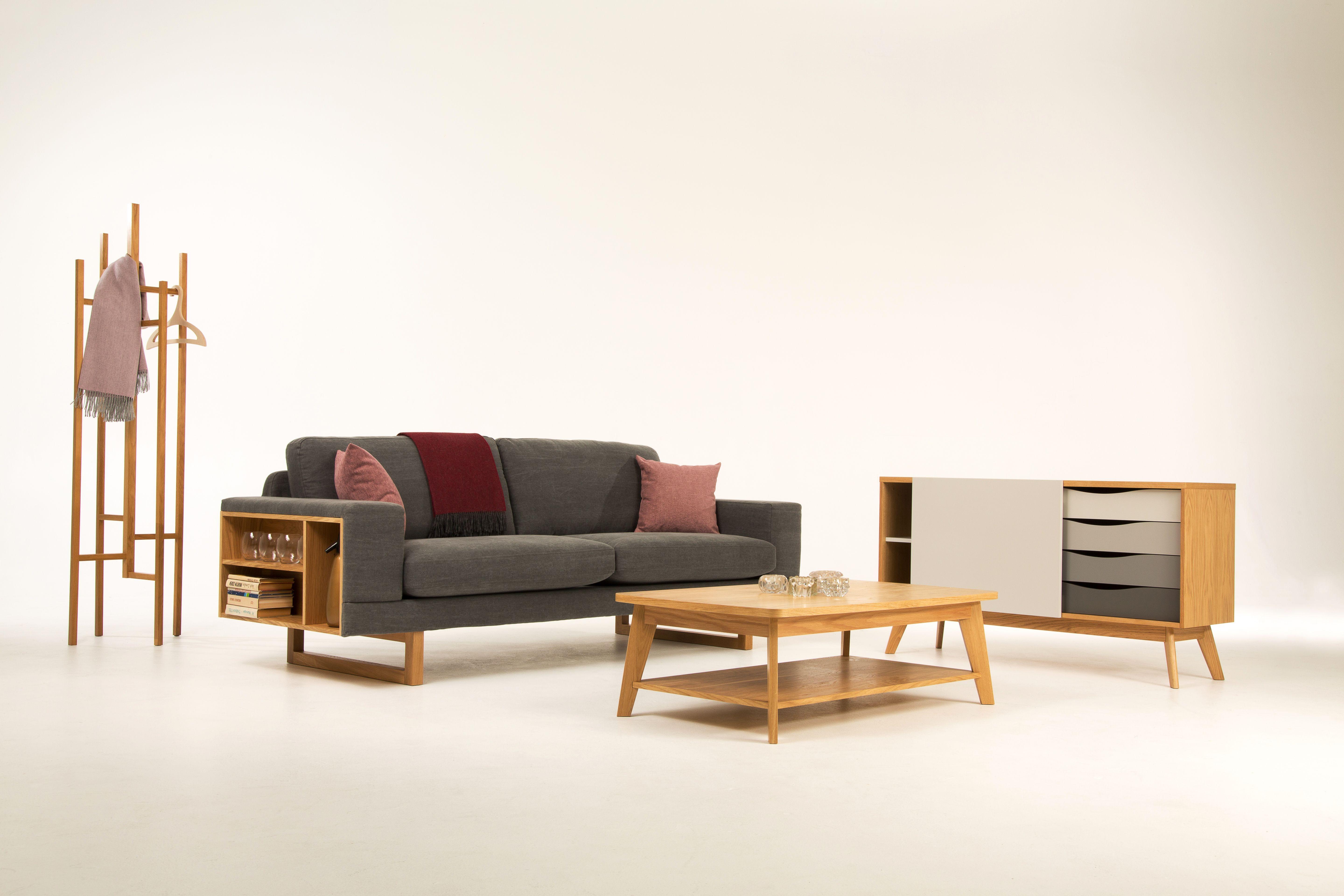 Wohnzimmer Im Skandinavischen Stil. Wunderschöne Möbel Von Woodman. # Wohnzimmer #wohnbereich #sofa