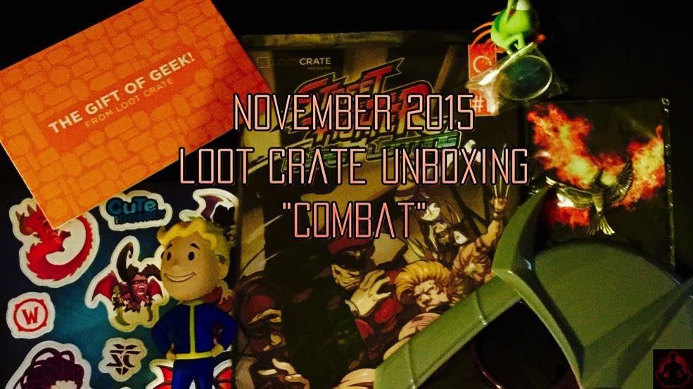 "November 2015 ""Combat"" Loot Crate Unboxing With Matt - http://www.entertainmentbuddha.com/november-2015-combat-loot-crate-unboxing-with-matt/"