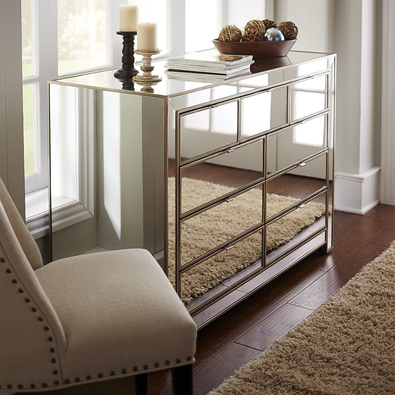 Astonishing Alexa Mirrored Dresser Home Inspiration Mirrored Bedroom Interior Design Ideas Jittwwsoteloinfo