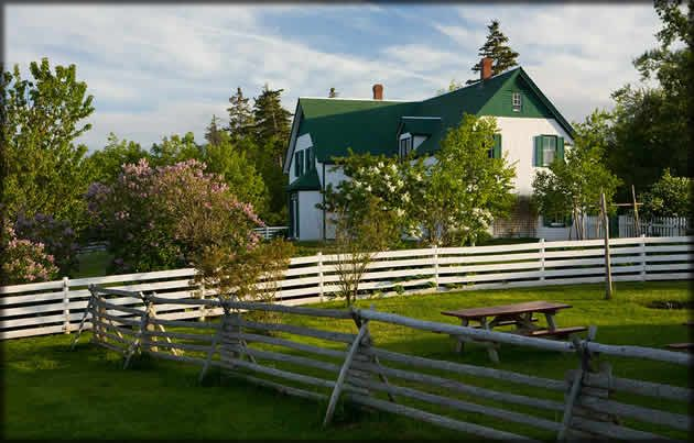 Green Gable House Prince Edward Island As In Anne Of Green Gables Green Gables Prince Edward Island Gable House
