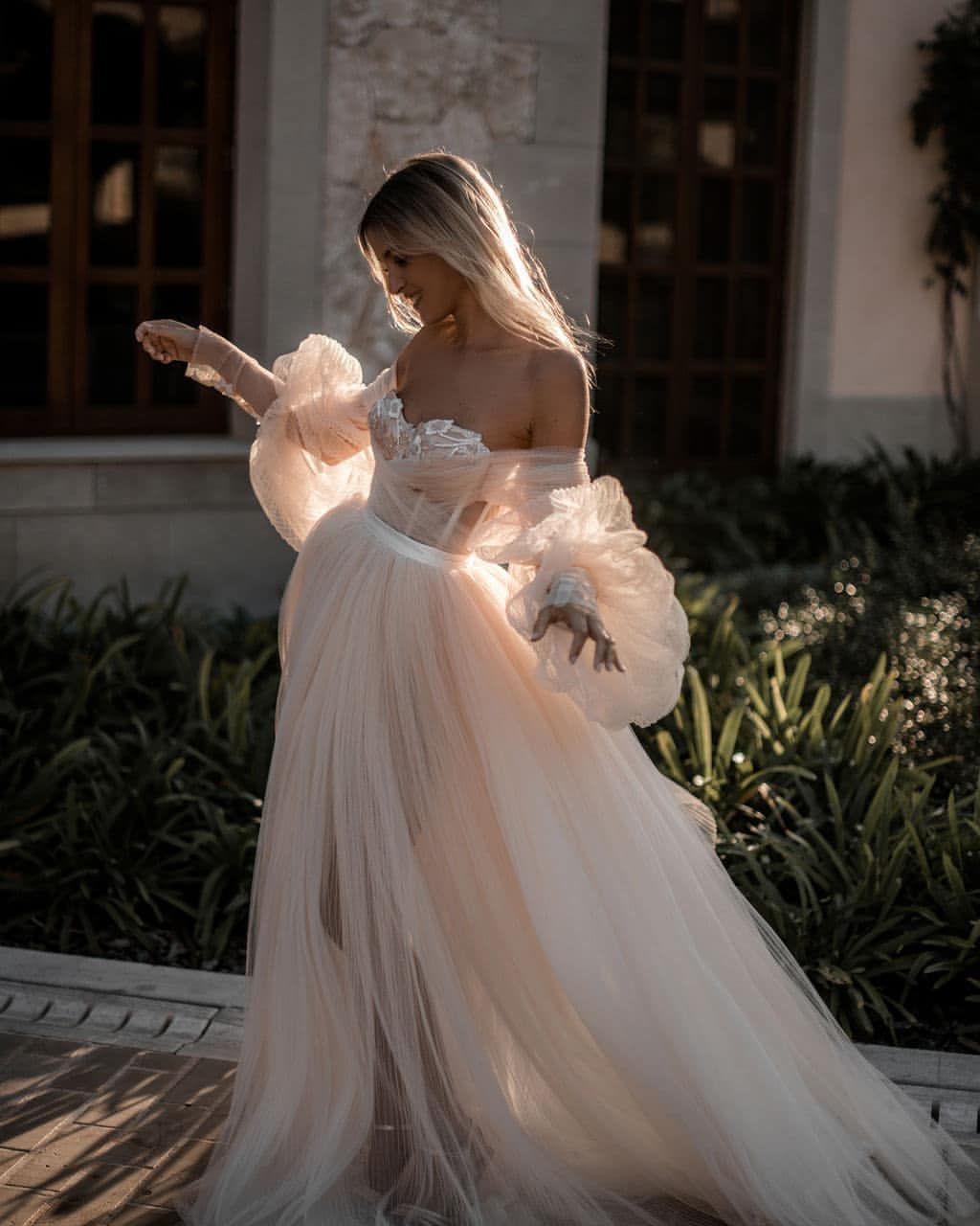 For More Visit Jolygram Jolygram Com Jolygram Instagram Instaview Long Wedding Dresses Bridal Dresses Tulle Wedding Dress