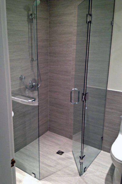 Top 60 Best Corner Shower Ideas - Bathroom Interior Designs images
