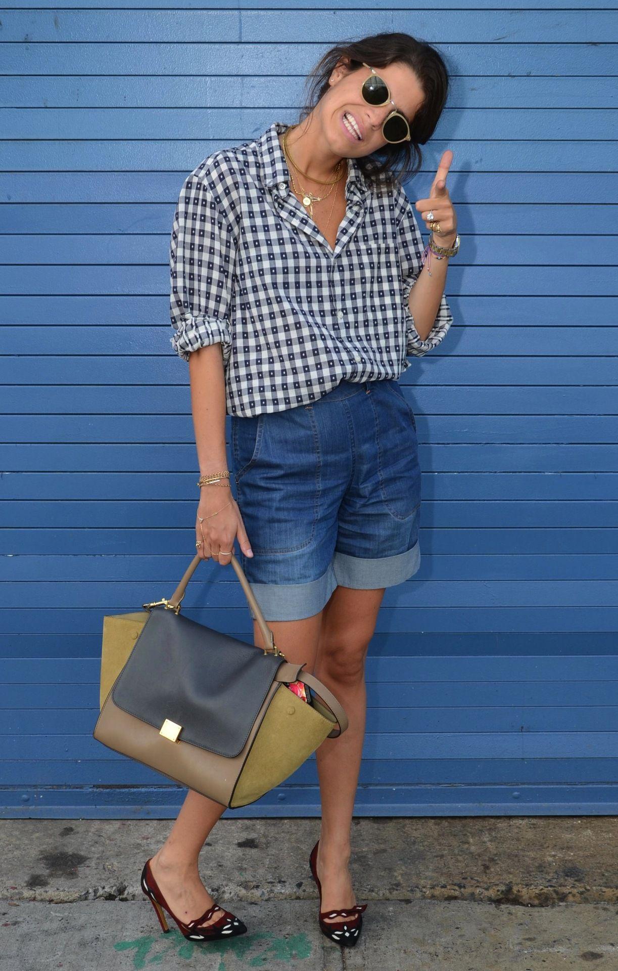 The Man Repeller herself! #manrepeller #blogger #celine #rachelcomey #streetstyle #fashionweek #nyfw