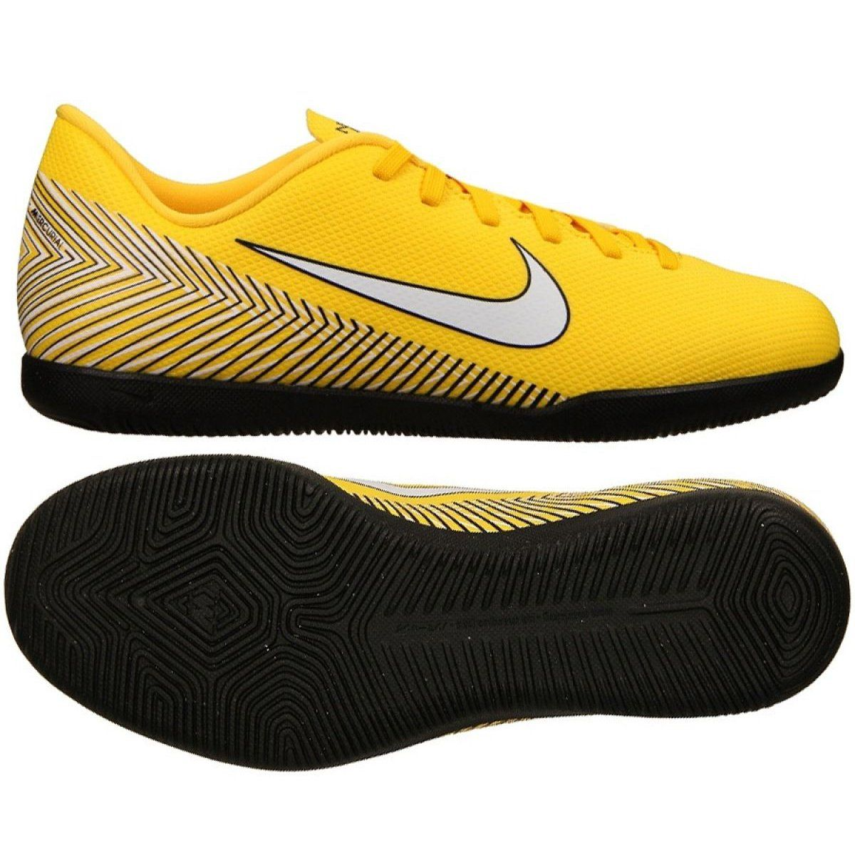 Buty Pilkarskie Nike Mercurial Vapor 12 Zolte Zolte Football Shoes Nike Football Boots Nike