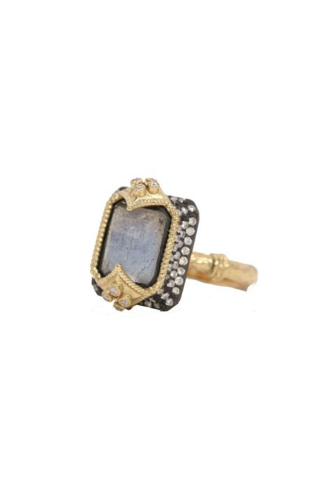 Armenta Labradorite Dulcinea Ring. Shop (and get inspired by) it and 70 other alternative engagement rings.