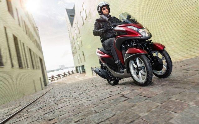 Yamaha Tricity, arriva lo scooter Yamaha a tre ruote