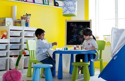 Mammut Table And Chairs For His Room