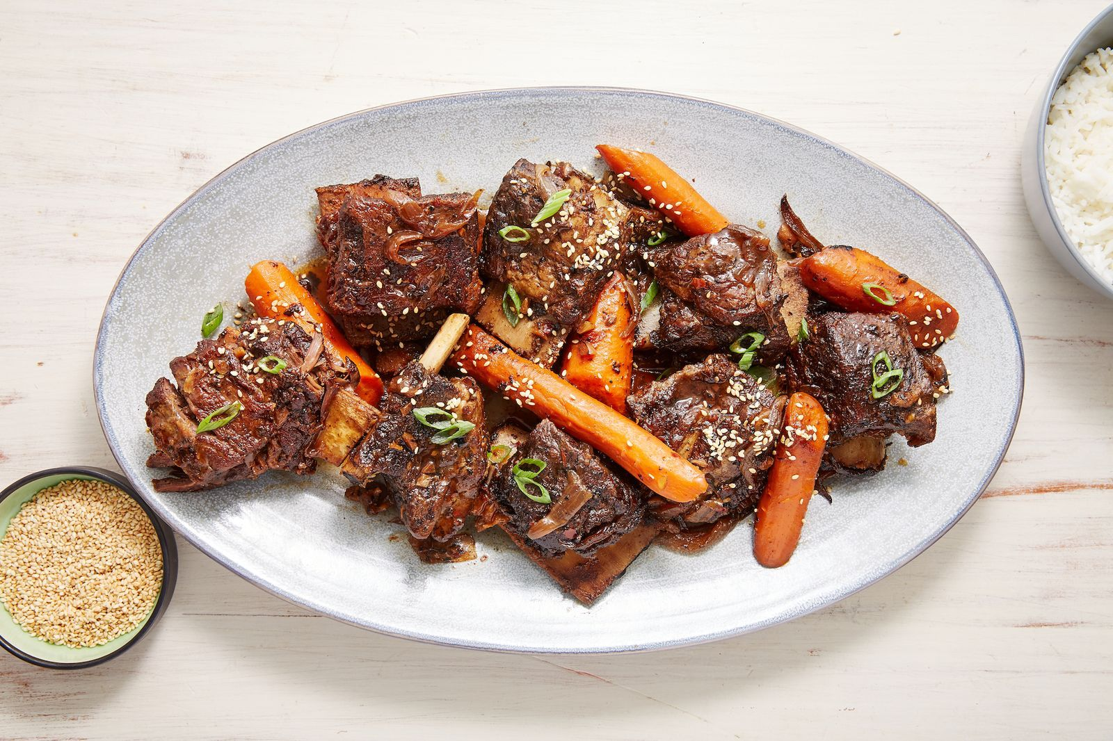 These Slow Cooker Short Ribs Are Restaurant Level Good Recipe Short Ribs Slow Cooker Meat Recipes For Dinner Healthy Meat Recipes