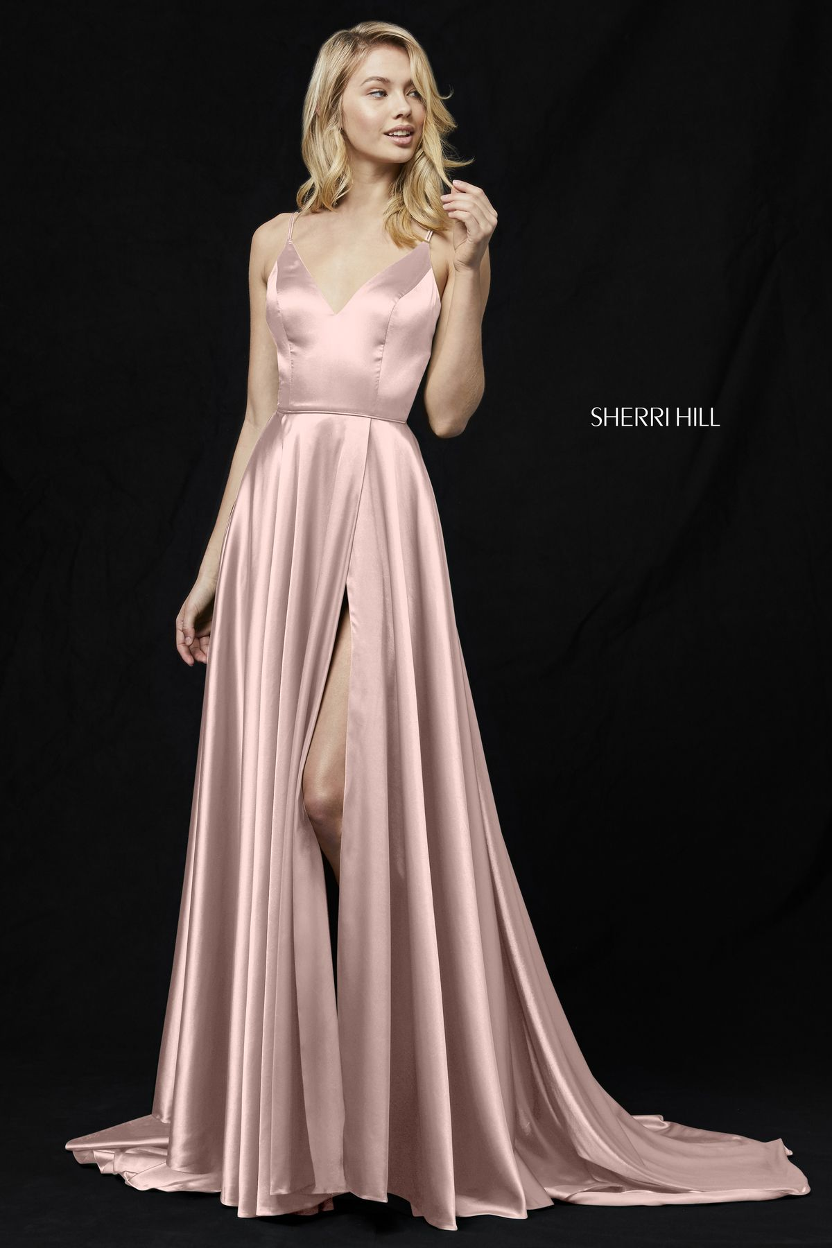 Style u sherri hill blush in pinterest dresses