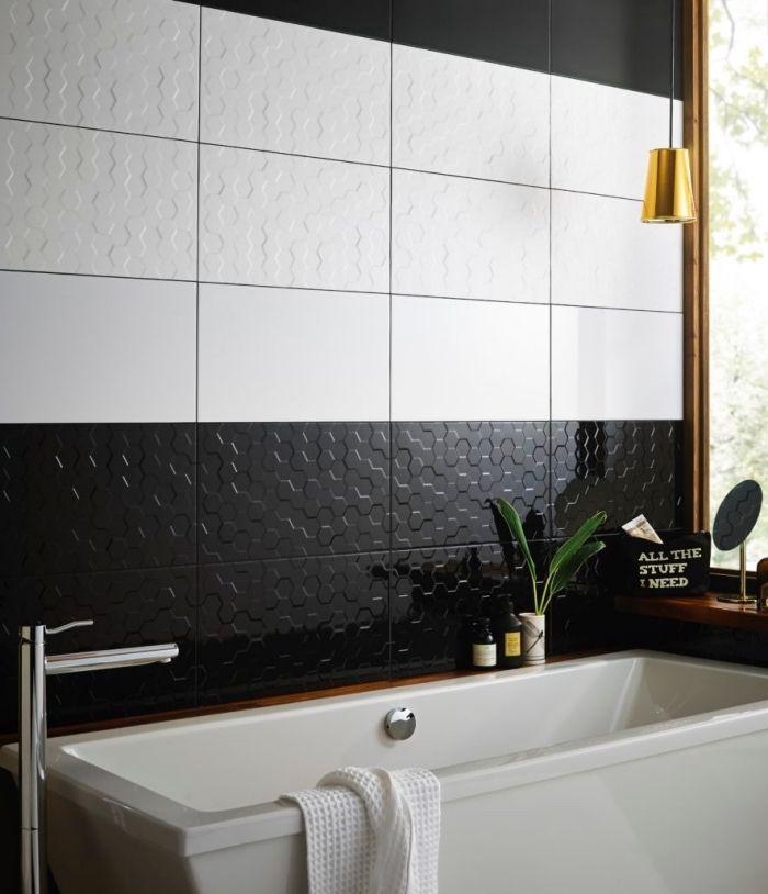 1001 exemples de rev tement mural pour salle de bain Revetements muraux salle de bain