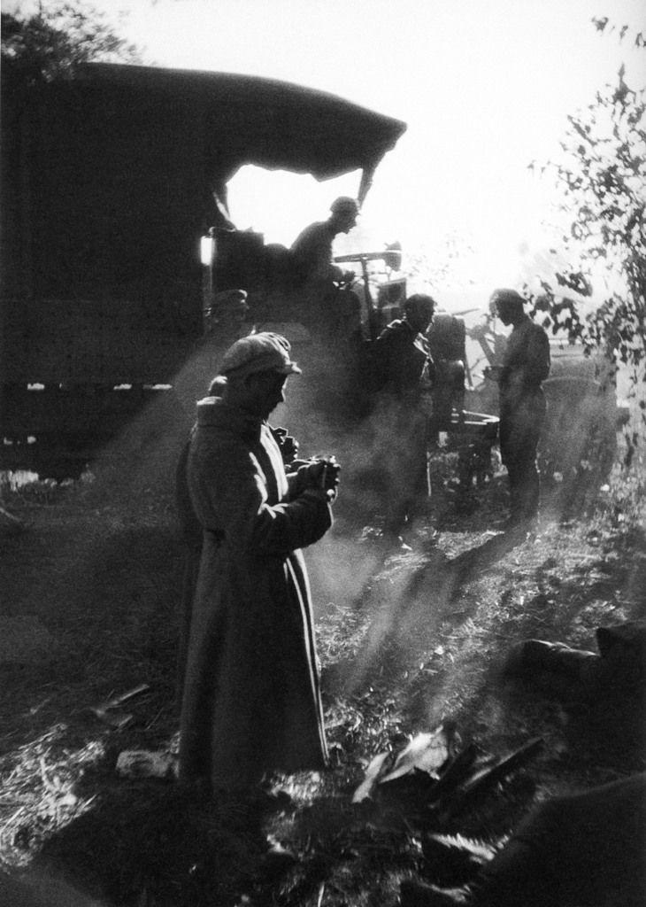 Aleksandr Rodchenko - Red Army Maneuvers, 1924.