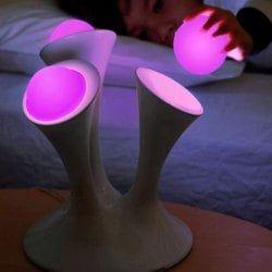 Colorful Mushroom Adjustable Bedside LED Night Light