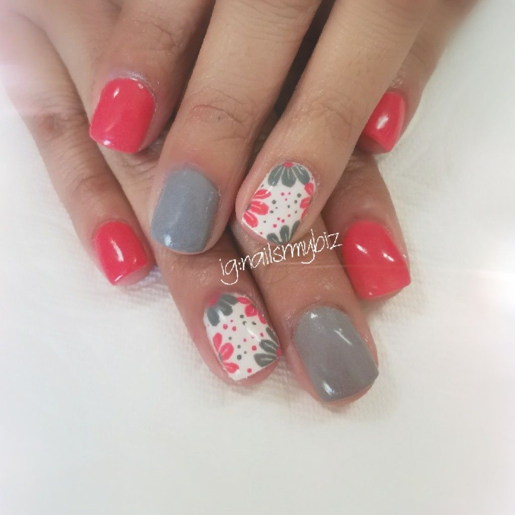 Nailsrmybiz Kiara Sky Dipping Powder Nail Art Gel Flowers Spring Summer