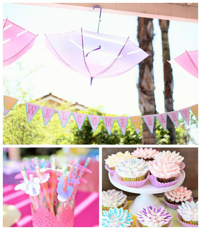 April Showers Bring May Flowers Themed Baby Shower With Images