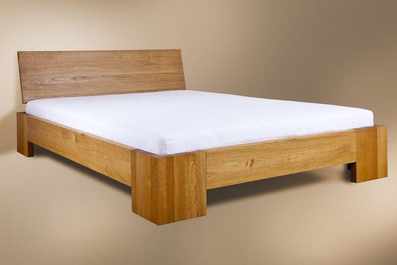 Eichenholz Bett 180cm X 200cm Von Horizontal Design Auf