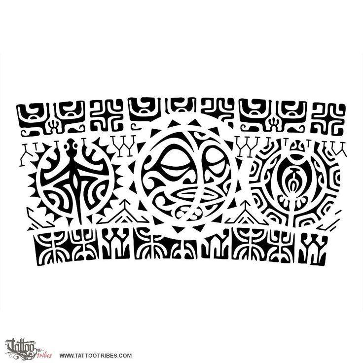 Bildergebnis für maori band vorlagen #maoritattoosbracelet | Tribal ...