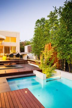 Viewbank Project Contemporary Pool Melbourne Apex - Amazing outdoor design by apex landscapes