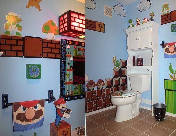 Super Mario Bathroom Toilet Bathroom Accessories Bathroom