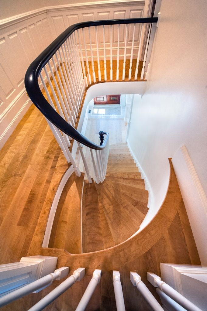 Best Custom Staircase Treads And Nosing Curly Birch Wide 400 x 300