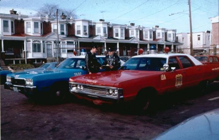 philadelphia police vehicles from 1969 | Police cars, Old police cars, Philadelphia