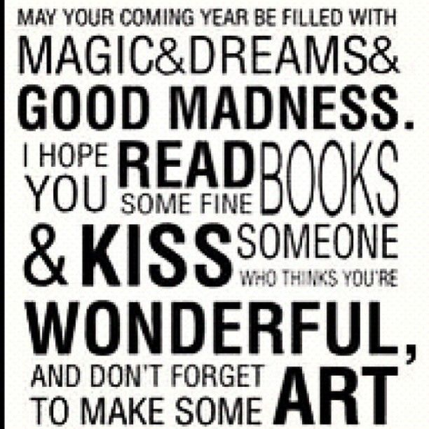 Neil Gaiman New Year Quotes: We Couldn't Have Said It Better Ourselves. Happy New Year