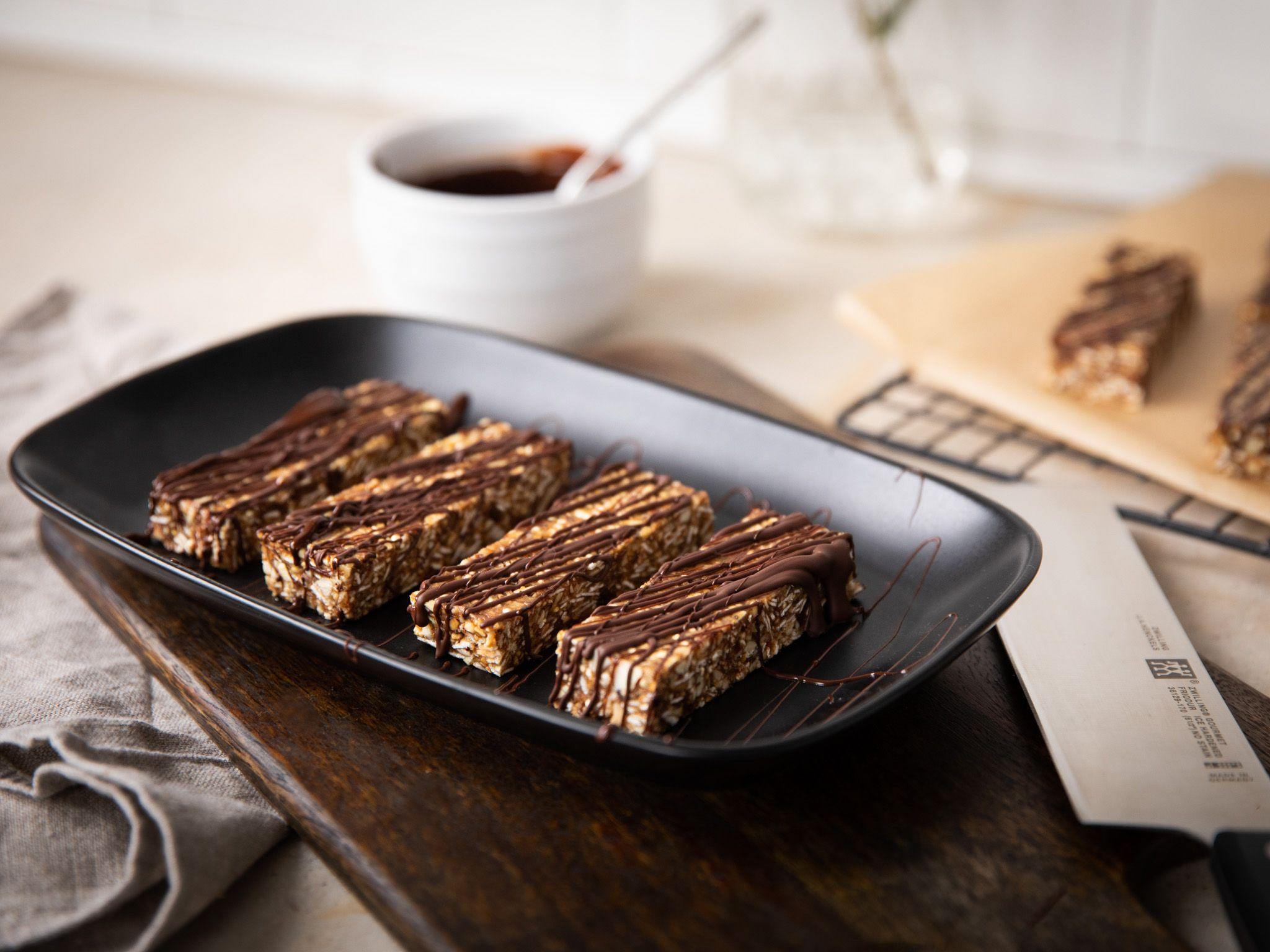 No bake quinoa energy bars