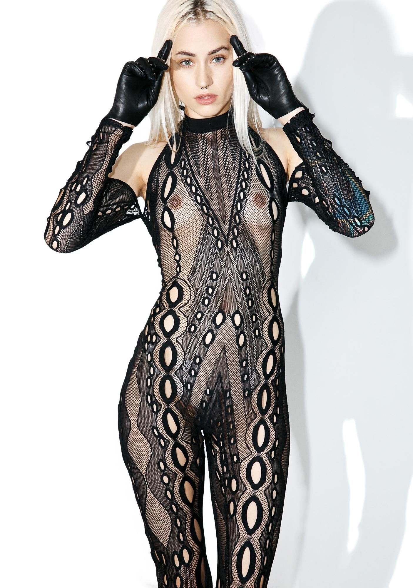 10beda1d5be54 Syncope Fishnet Bodystocking is gunna leave 'em totally stunned, babe! This  amazing bodystocking