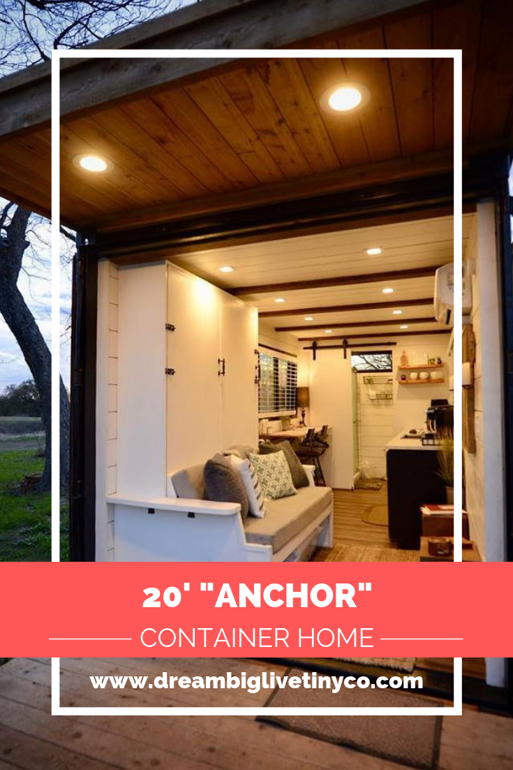20 Anchor Tiny Container Home By Cargohome In Texas