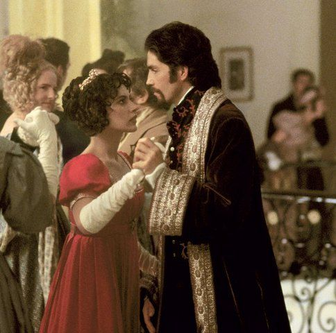 Oh wow. The Count of Monte Cristo. My favorite movie. One of the reasons is standing on the right... Ha!