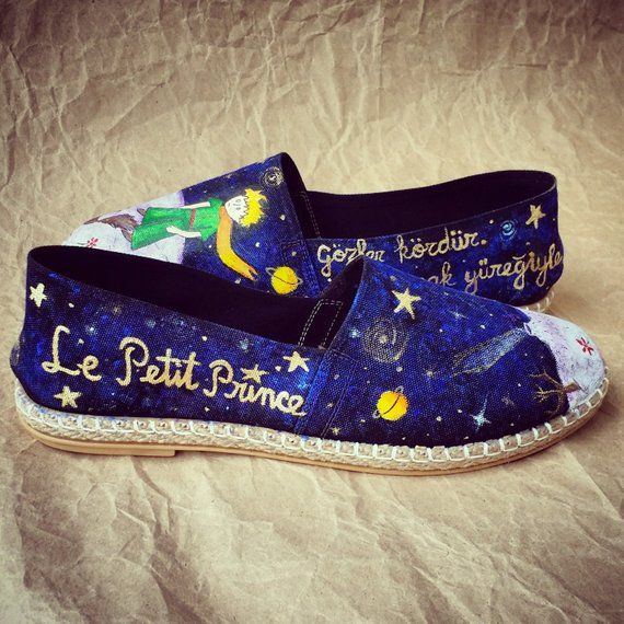 6ec331df5207 Prince Hand Painted Shoe - Espadrille in 2019