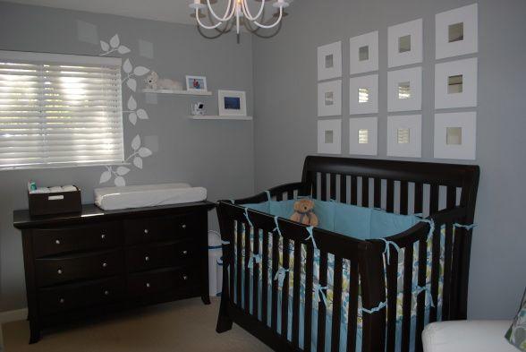 Best 25 black nursery furniture ideas on pinterest Dark wood baby furniture