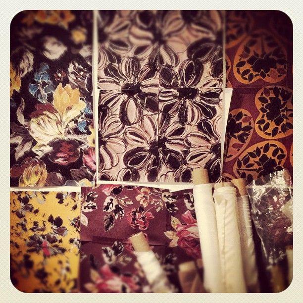 Work in progress on the studio wall #fashion - @belleandbunty- #webstagram