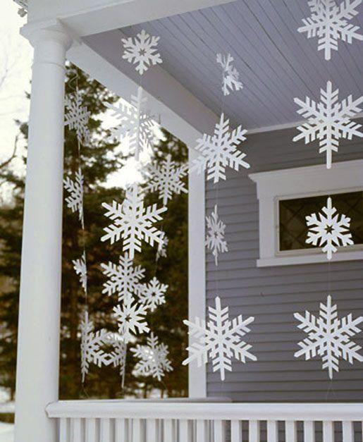 Zimowa Dekoracja Okna Zobacz Najpiękniejsze Pomysły Zima
