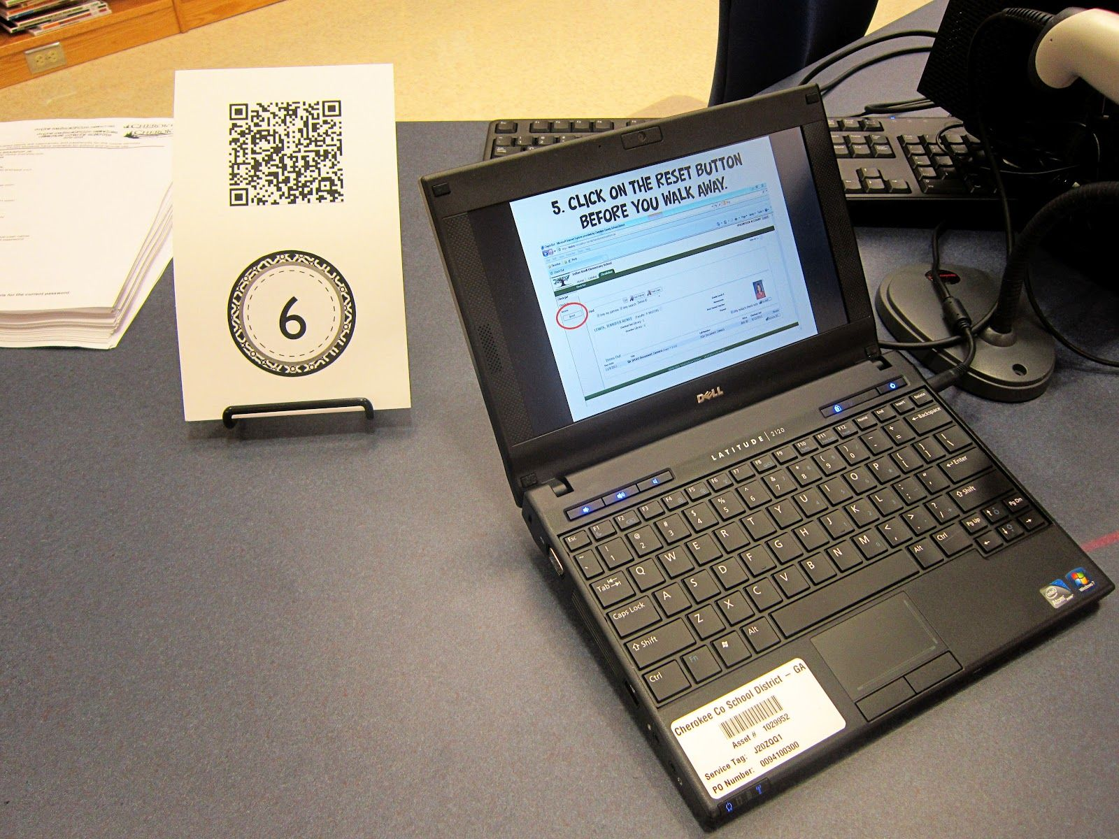 Sharing the Shelves: QR Code Library Orientation