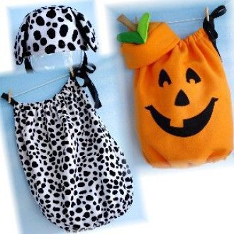 Simple Pumpkin & Dalmation Costumes | YouCanMakeThis.com