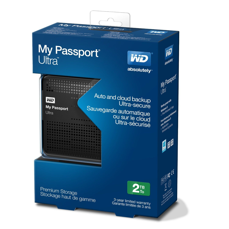 Wd My Passport Ultra 2tb Portable External Hard With Images Portable External Hard Drive Portable Hard Drives External Hard Drive