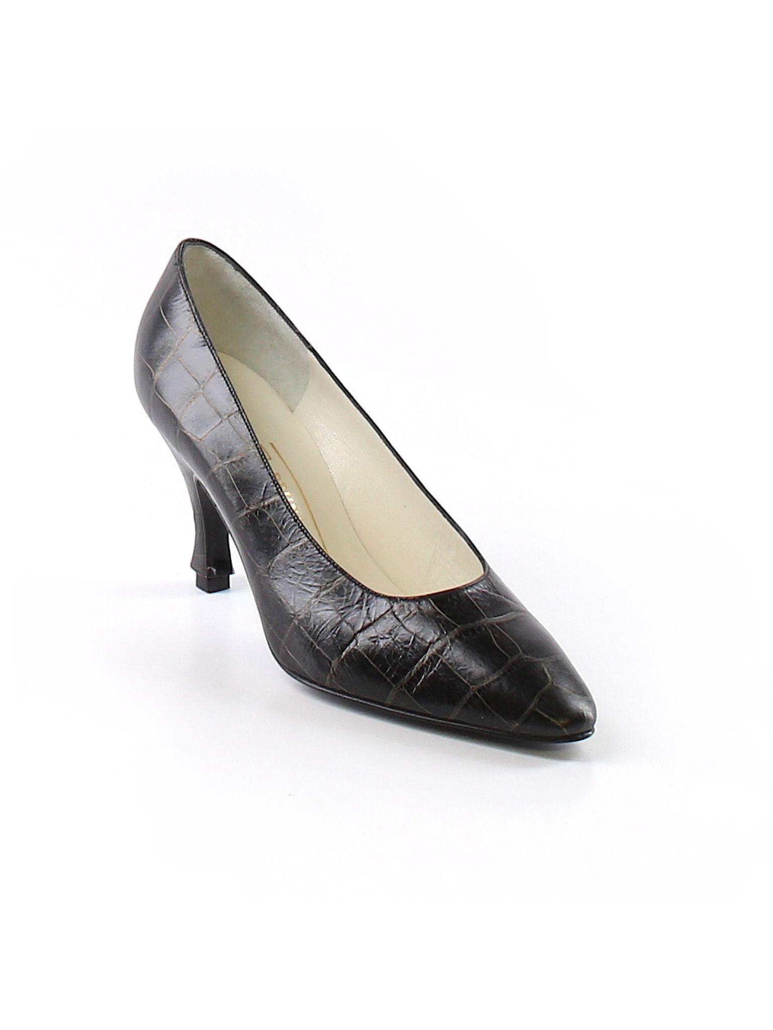 98605165a Bruno Magli Heels: Size 6 1/2 Black Women's Clothing - $50.99