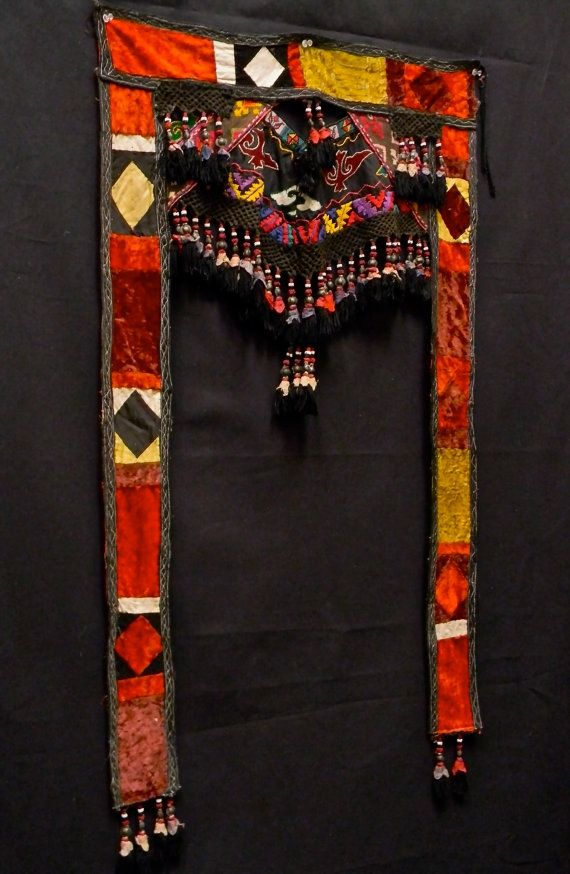 Gorgeous Antique TRIBAL TORAN or Wallhanging by Luxethnik on Etsy, $395.00