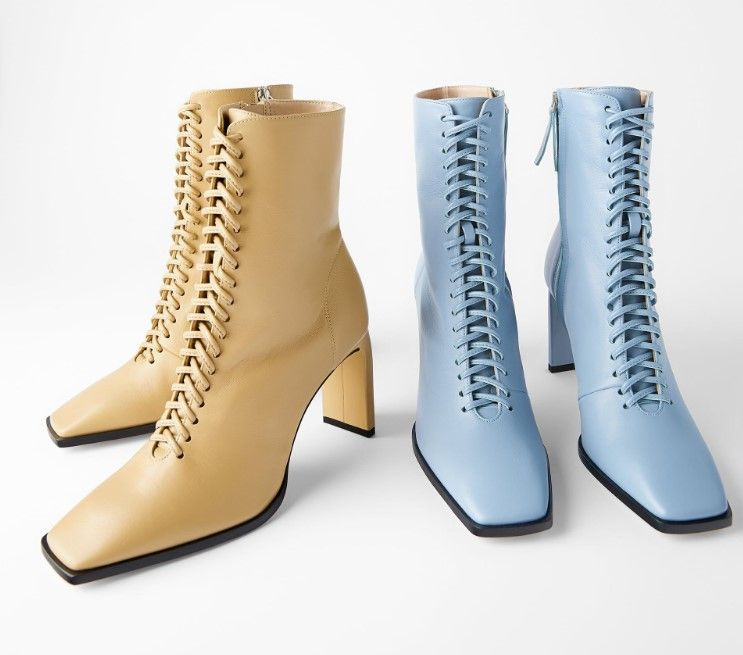Zara Sonbahar Trendleri 2019 2020 Pembe Seker Moda Blogu Moda Ayakkabilar Zara Kadin Bot Modelleri