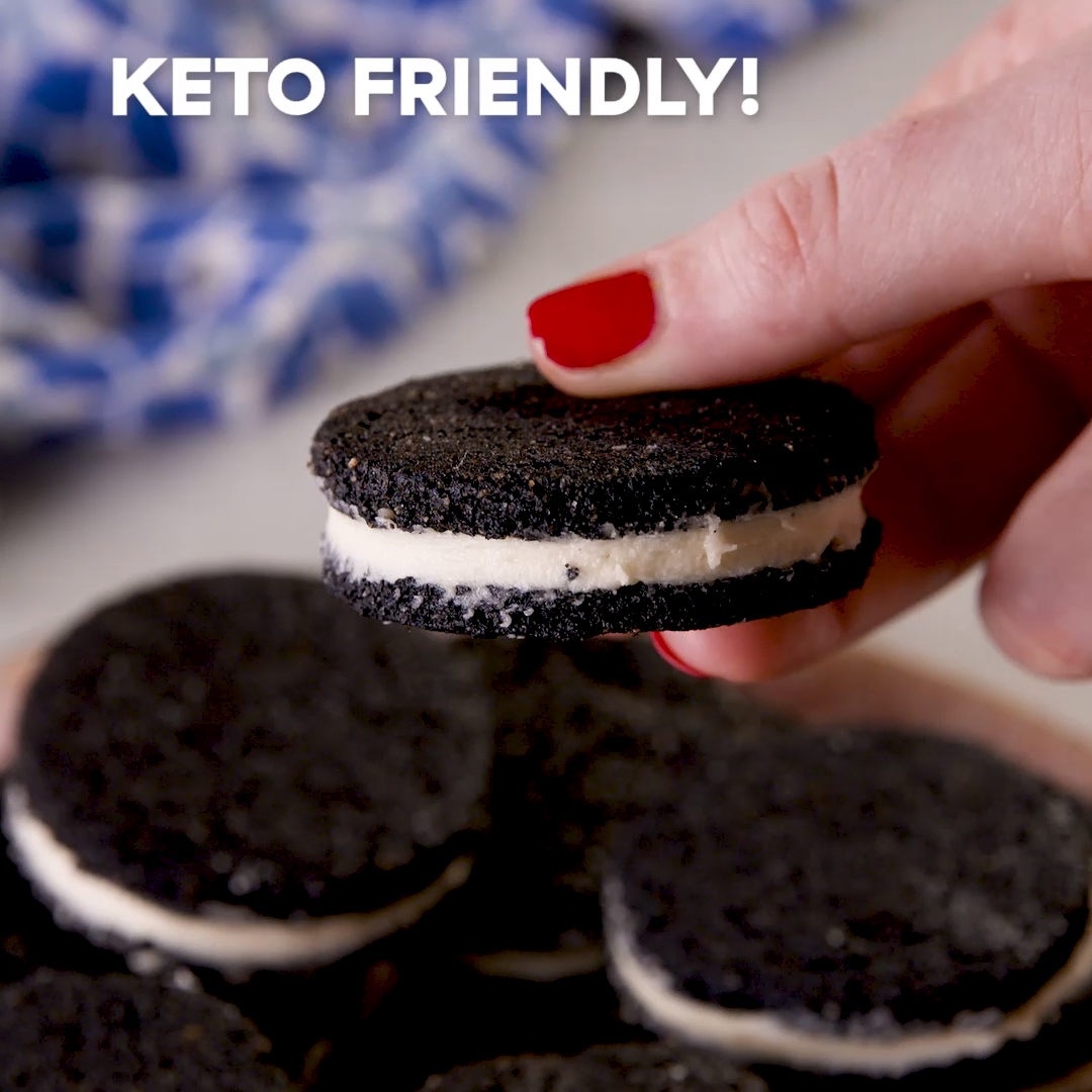 Keto Oreos Keto desserts can be tricky, but luckil