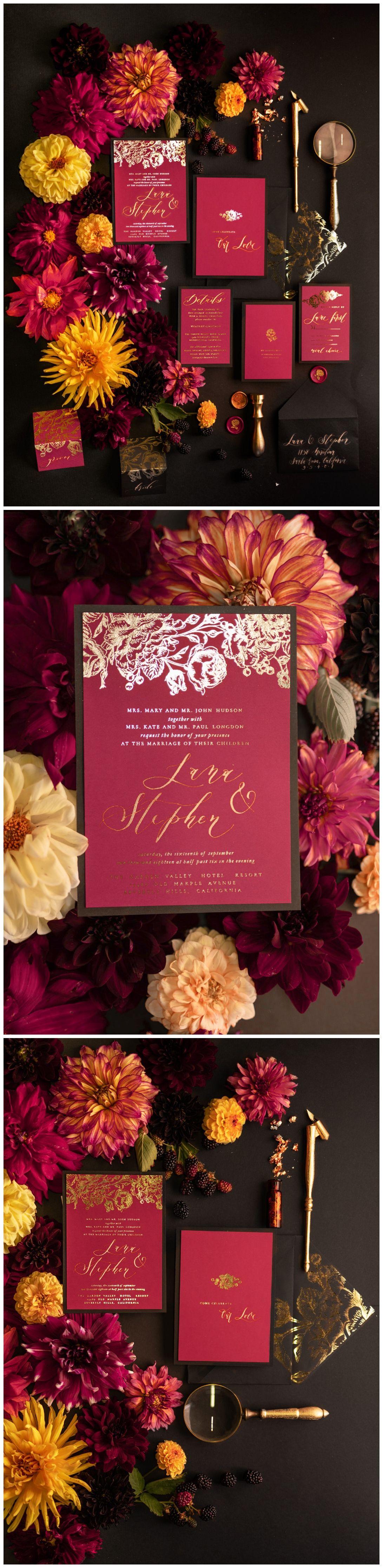 WEDDING INVITATIONS calligraphy | Pinterest | Weddingideas ...