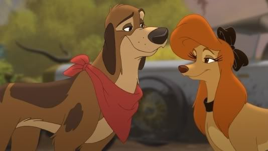 Dixie And Cash The Fox And The Hound Disney Animated Movies Walt Disney Animation Studios